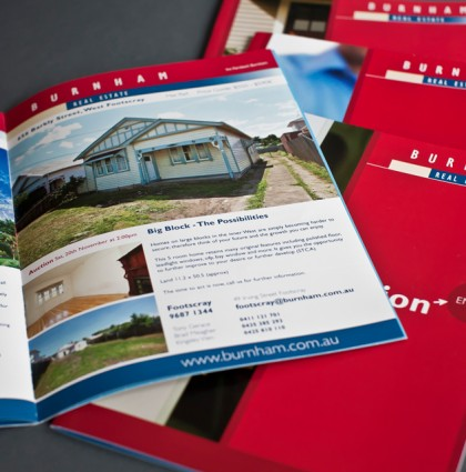 Property Booklet, Flyers & Direct Mail