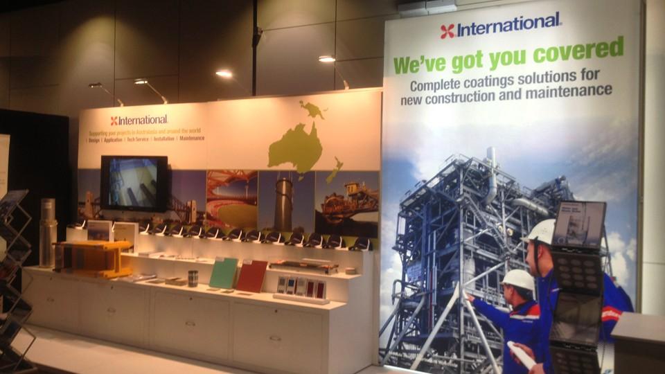 Expo Stand Backdrop : Company capability advertising expo international