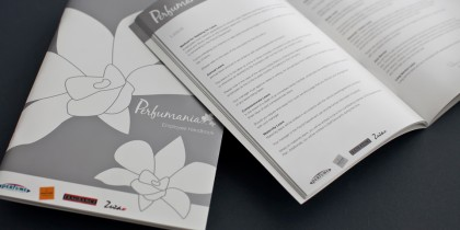 Employee Induction Booklet & Perfume Blotters