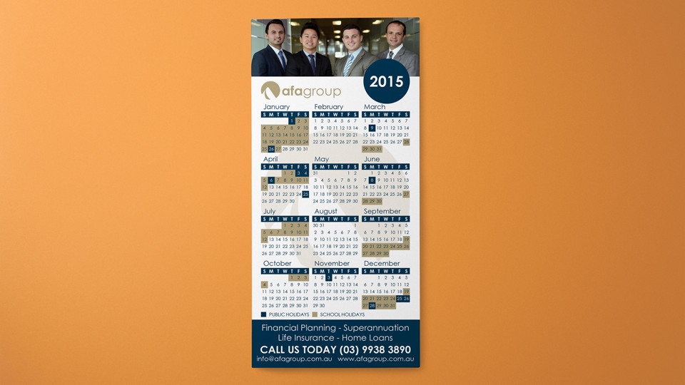 afa-group-niddrie-insurance-promotional-annual-calendar-calender-design-printing-magnet-dl