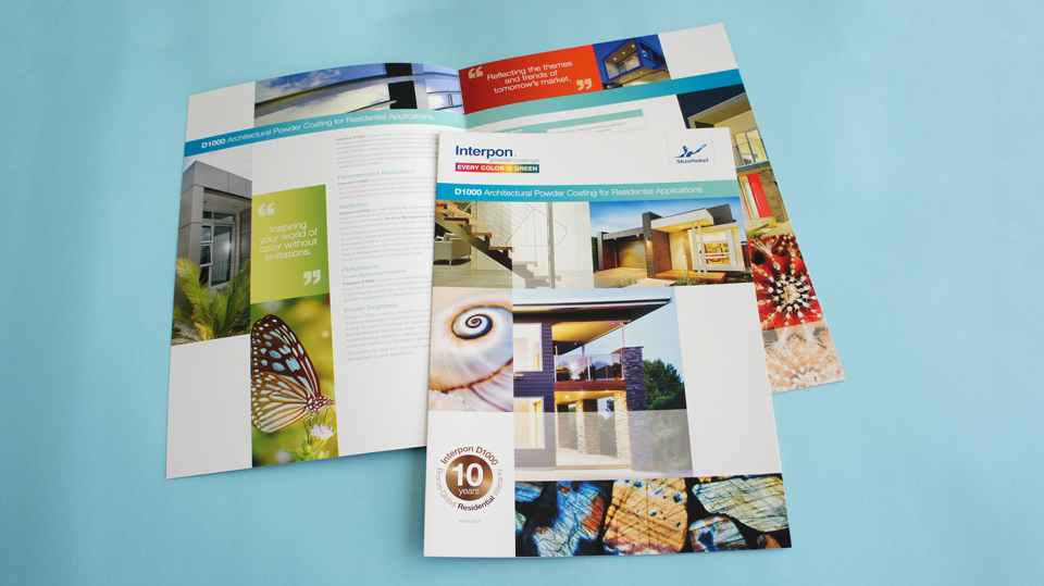 Product Brochures | Interpon | Akzonobel | Sunshine |Ideapro