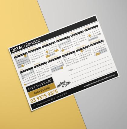 Company Branded Calendar